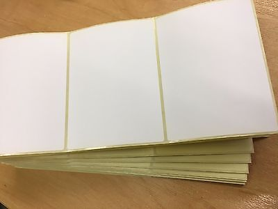 LARGE WHITE SELF ADHESIVE LABELS (pack of 200) 110 X 65mm