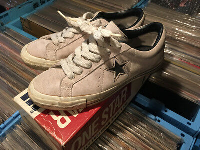 CONVERSE One Star US Vintage Sneakers with a Box 1990s Gray Black Suede US 6 1/2