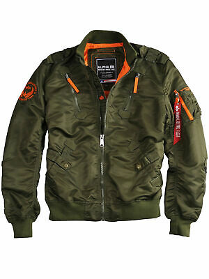 ALPHA INDUSTRIES JACKE Falcon II 156109 Sagegreen