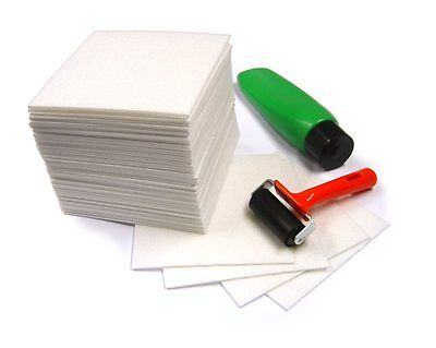 A4 Safeprint Lino Block Printing Tiles Expanded Polystyrene Foam Sheets 25 Pack
