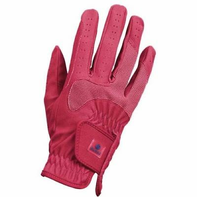Busse Riding Gloves Classic Stretch Elastic Glove Zügelvers Spicy Coral