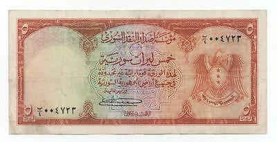 Syria Syrie 5 Livres 1950 Pick 74 Look Scans