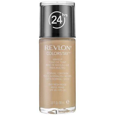 Revlon ColorStay Makeup for Normal/Dry Skin 250 Fresh Beige - 1 fl. oz. (30 ml)