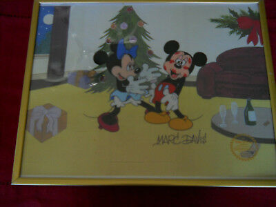 Mickey Mouse/minnie Mouse-Limited Edition Serigraph-Signed By Marc Davis
