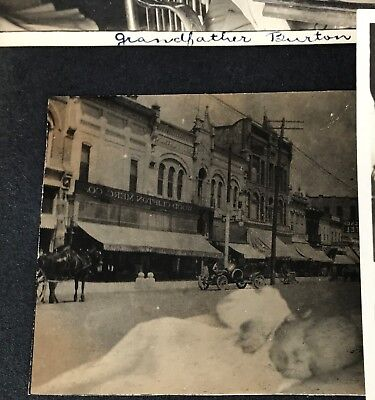 1900 Photo Album Utah Baby Train Station SNOWMAN WOMAN Liberty Bond Venice Beach