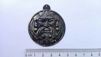 Medallion Antique Bronze Middle Ages