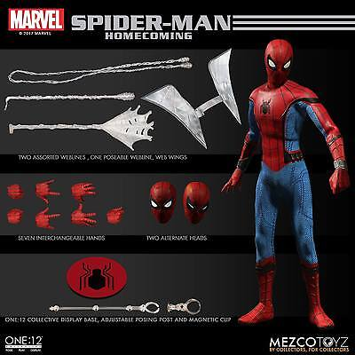 PREORDINE  Spider-Man Homecoming Action Figure 1/12