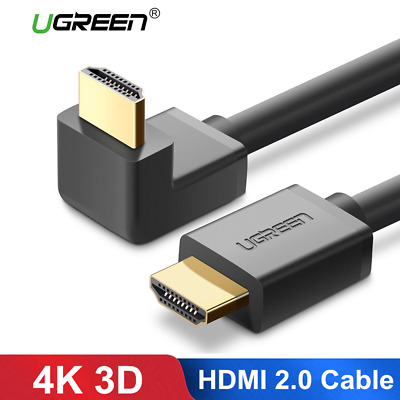 Ugreen HDMI Cable 270/90 Degree Angle HDMI to HDMI Cable 4K 3D for TV PS4