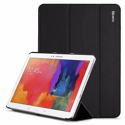 Poetic Slimline PU Leather Slim-Fit Trifold Cover Case for Galaxy Tab Pro 10.1