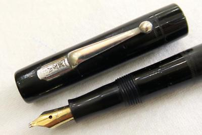 Swan Minor Sm1/60 Fountain Pen, Black, Mabie Todd, Fully Serviced C1935