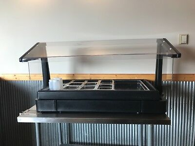 Cambro Restaurant Buffet/Salad Bar - Brand New with Sneeze Guard