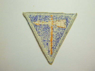 A   WW 2 U S Army Air Force Weather Specialist  Cut Edge White Back Patch