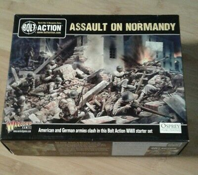 Bolt Action - Assault on normandy WWII German OVP Warlord Games