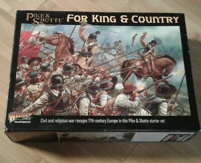 Bolt Action - for king & country . Pike & shotte OVP Warlord Games