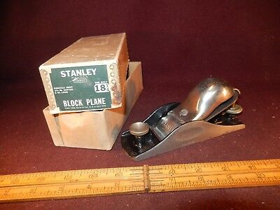 Stanley plan 18-1/4, box, collectible-user