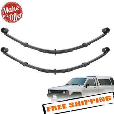 """Pro Comp 3.5/"""" Rear Leaf Spring for 1984-2001 Jeep Cherokee XJ 53111 Black"""