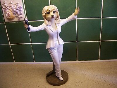 Magnificent Meerkats Country Artists Dolly Ca04484 Enesco Ltd White Outfit