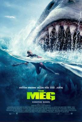 The Meg movie posters Buy 2 for $12