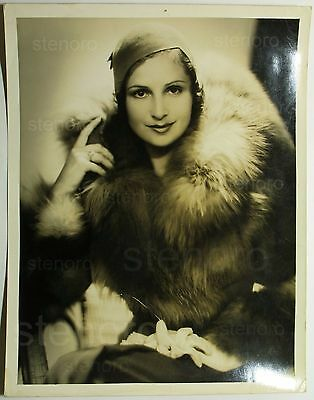 George Hurrell photo of actress Nora Gregor m.g.m. n.8077, 1930 Original! Cinema