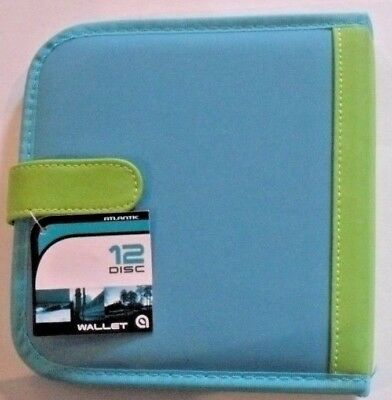 Cd Dvd Wallet Case Holder Discs Holds Disc 12 Capacity For A Kid Cmy Other Items