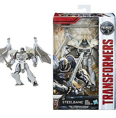 NEW Transformers The Last Knight Movie Premier Deluxe DINOBOT STEELBANE DRAGON