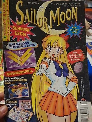 Sailor Moon Magazin Comic Nr. 04 / 1999