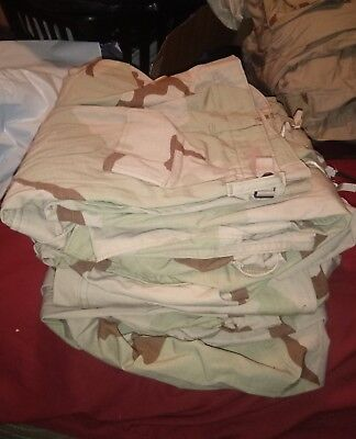 4 US Army BDU Uniform Pants Size X-Large - Long 3 color Desert