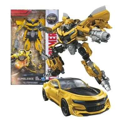 Hasbro Transformers MV5 The Last Knight Deluxe Class Bumblebee - NEW IN BOX!