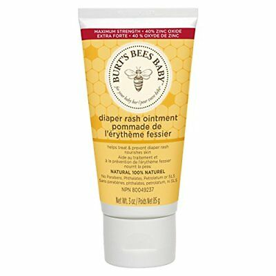 Burt's Bees Baby Bee Natural Diaper Rash Ointment - 3 Ounce Tube