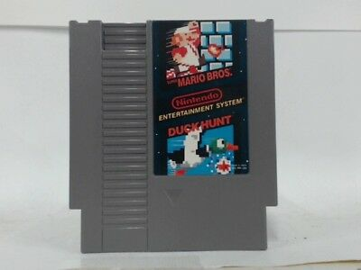 Super Mario Bros And Duck Hunt Nes Nintendo  Good