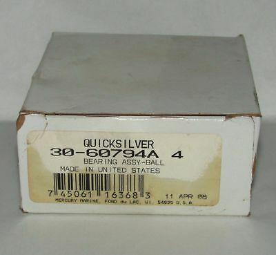 New Quicksilver Marine Ball Bearing Assembly Part No. 30-60794A 4