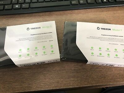 TREZOR MODEL T - Cryptocurrency Hardware Wallet IN STOCK