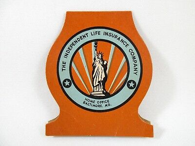 """VTG Advertising NEEDLE BOOK """"The Independent Life Insurance Company"""" Baltimore"""