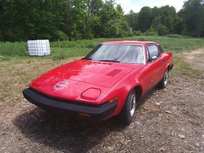 1976 Triumph TR7  1976 Triumph TR7    75K MileS  Manual Transmission 4 SPEED