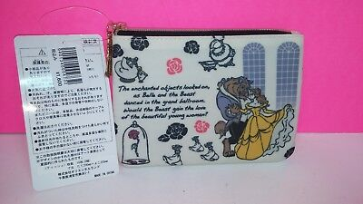 Disney Store Japan Beauty and The Beast Mini Purse Wallet Belle with Tags