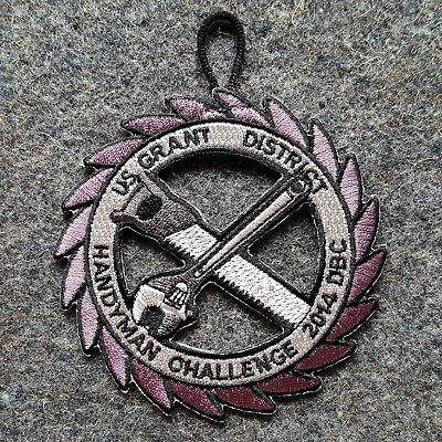 Dan Beard Council / US Grant District / Handyman Challenge Patch 2014 DBC BSA