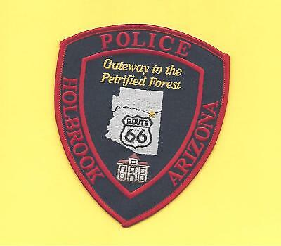 Arizona- Route 66 Patch- Holbrook Police Dept-Gateway To Petrified Forest