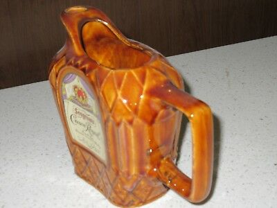 Vintage Seagram's Crown Royal Whisky Ceramic Bar collectible free shipping