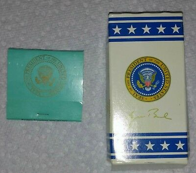 Air Force One George W. Bush Presidential matchbook + M&Ms