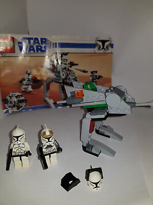 Lego Star Wars 8014 Clone Walker Battle Pack Complete Boxed With