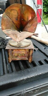 Antique Vitriola Music Box