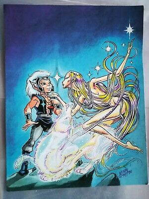 "ElfQuest ""Recognition?"" Print Wendy Pini 1996 for International Fan Club"
