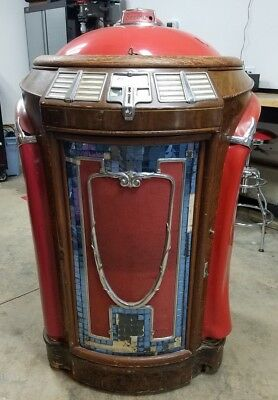 Seeburg Symphonola Model 146 Trashcan Jukebox with Red Top Chicago-NW Suburbs