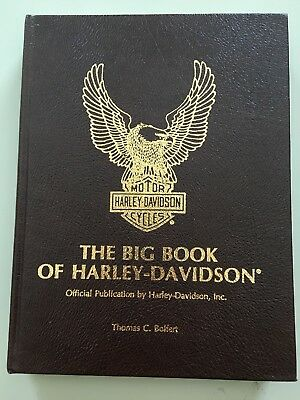 The Big Book Of Harley Davidson Limited Edition Autographed Book 47/1500 Copies