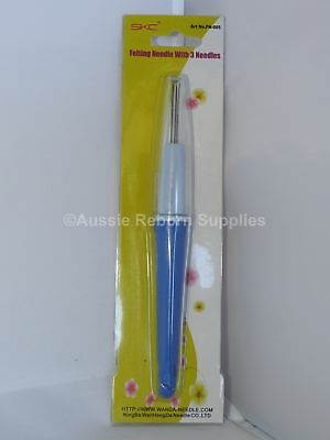 Plastic 3 Needle Reborn Hair Micro Rooting Tool for Mohair Baby Doll Supplies