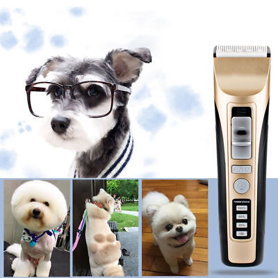Pet electric hair clipper Trimmer Rechargeable Cordless For Cat Dog
