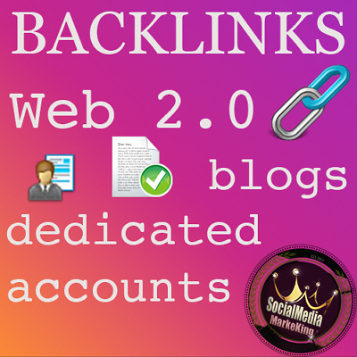 ✅ 25 Profil Backlinks Web 2.0 blogs (Dedicated accounts) DOFOLLOW SEO Linkaufbau