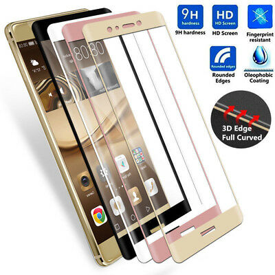 For Huawei P Smart Genuine 3D Full Coverage Tempered Glass Screen Protector Film