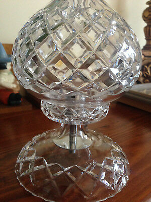 Vintage lamp Crystal/Glass