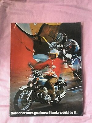 Honda 750 Four brochure 1969 original